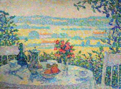 A Table in the Shade by Jeanne Selmersheim-Desgrange