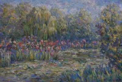 Giverny Garden by Blanche Monet
