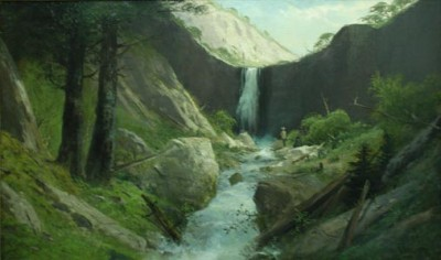 Waterfall by F  Schafer