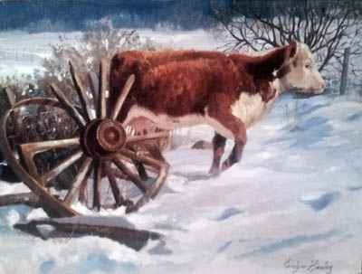 First Winter Snow by Carolyne Hawley